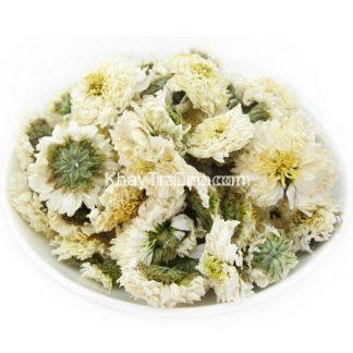 hoa cúc khô loại cúc bạch dùng để pha trà hoa cúc loại sạch giá rẻ