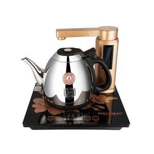 ấm pha trà điện thông minh tự động xoay vòi và bơm nước chính hãng Kamjove V7 bền