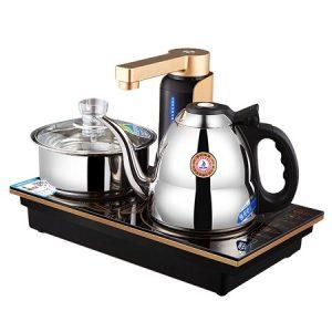 bộ ấm pha trà điệntự động đa năng thông minh loại bếp từ chính hãng kamjove q9