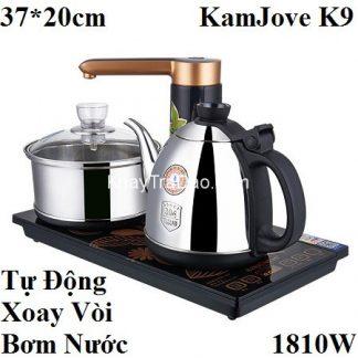 bộ pha trà bằng điện tự động thông minh đa năng hút nước và bơm nước tiện lợi kamjove k9