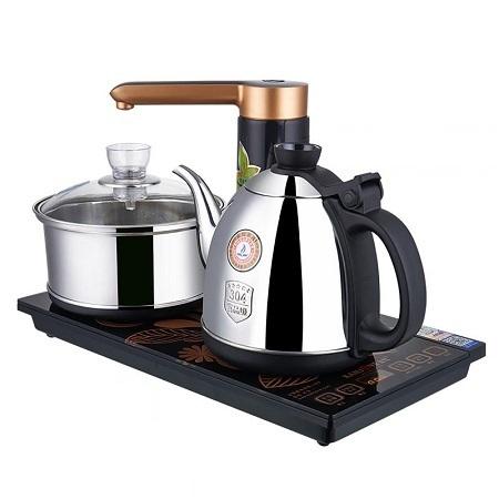 bộ pha trà bằng điệntự động thông minh đa năng hút nước và bơm nước tiện lợi kamjove k9