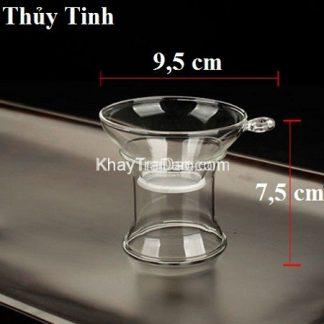 lọc trà thủy tinh chịu nhiệt cao cấp màng lọc vải bền đẹp lt05