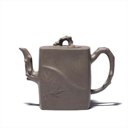 ấm tử sa cấp trực trúc cao cấp nguyên khoáng thanh khôi nê thủ công 390ml pha trà ngon.