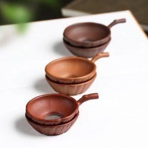 lọc trà tử sa thủ công dáng đẹp màng lọc inox 304 bền dùng làm lược trà