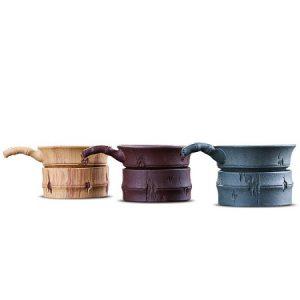 lọc trà tử sa đẹp màng lọc inox bền có 3 màu vàng nâu xanh