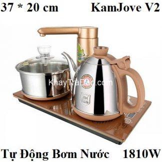 bộ pha trà bằng điện đa năng loại tự động thông minh chính hãng kamjove v2