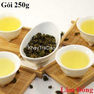 trà oolong tứ quý bảo lộc lâm đồng gói hút chân không 250g ngon sạch