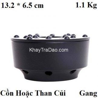 bếp đun nước pha trà bằng gang dùng than hoa kiểu đơn giản đẹp đun nhanh bd03