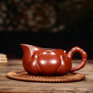chén tống tử sa đại hồng bào nguyên khoáng nghi hưng dáng đài hoa làm chuyên trà đẹp