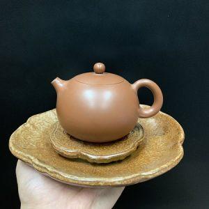 thuyền trà dưỡng ấm gốm hỏa biến dáng ang hứng được nước để làm nóng ấm trà dc24.