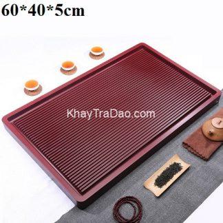 khay trà bakelite hàn quốc đựng ấm chén trà khả năng chịu nhiệt và va đập cực tốt 60x40cm