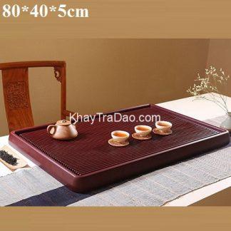 khay trà bakelite dạng phíp đựng ấm chén trà chịu lực và nhiệt cực tốt bền đẹp 80x40cm