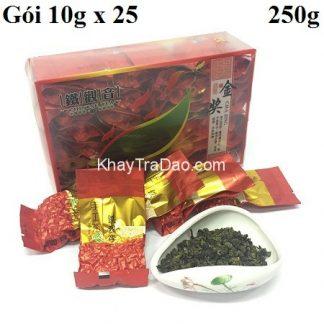 trà thiết quan âm phúc kiến thượng hạng gói nhỏ 10g một lần pha đảm bảo chất lượng