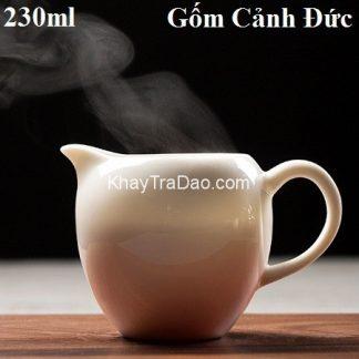 chén tống sứ cảnh đức cao cấp màu trắng đẹp dùng làm chuyên trà công năng tốt