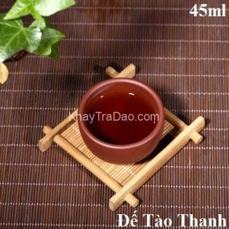 chén trà tử sa nguyên khoáng đế tào thanh nghi hưng dạng ly trà nhỏ vừa phải 45ml