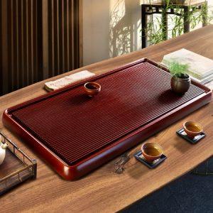 khay trà bakelite để ấm chén trà dạng khay phíp hàn quốc cao cấp 100x50cm