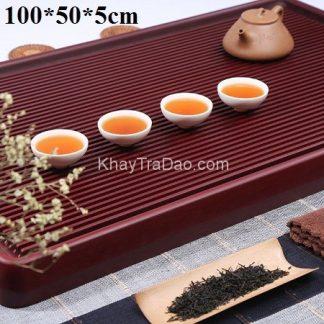 khay trà bakelite để ấm chén trà dạng khay phíp hàn quốc cao cấp dài 1m bền đẹp