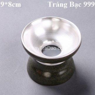lọc trà thiên mục bạc dùng để lược trà giữ được hương vị trà nguyên vẹn bền đẹp