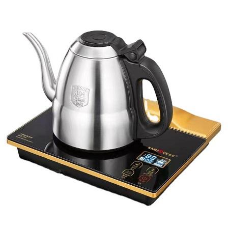 bộ ấm pha trà điện thủy tinh chính hãng kamjove bơm nước bên trong lòng ấm F7.