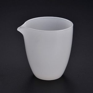 Chén tống ngọc loại bạch ngọc như ý dùng làm chuyên rót trà đẹp cao cấp 240ml