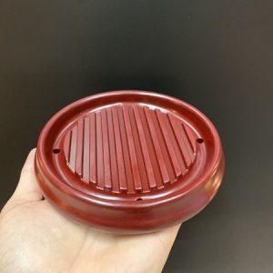 Đế ấm trà phíp bakelite dùng để kê ấm trà bền đẹp kích thước vừa phải 13x2cm