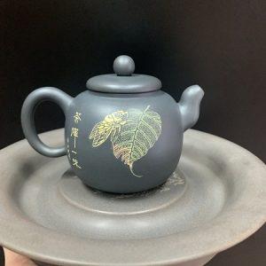 Ấm tử sa nê hưng cao cấp họa ve sầu cực đẹp thủ công tinh xảo pha trà cực ngon