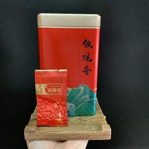 Trà thiết quan âm lên men bán phần cực phẩm thơm ngon nước vàng hồng hương thanh khiết hộp 250g