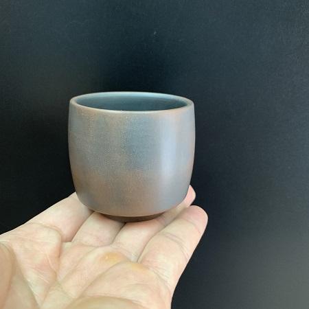Chén uống trà tử sa nê hưng hỏa biến dáng cao đẹp dễ cầm giữ hương tốt 50ml